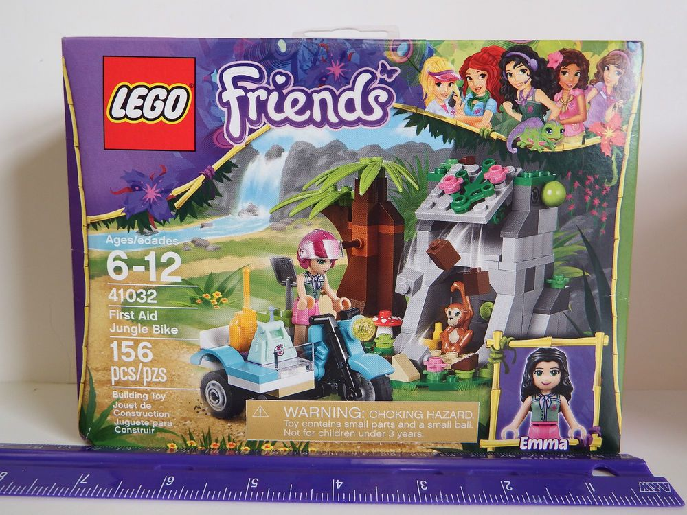 Details About Lego Friends First Aid Jungle Bike Model 41032