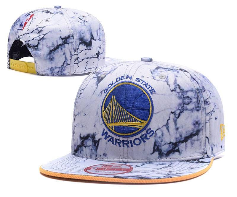 e68a139aa47 NBA Golden State Warriors White Snapback Hats Turbid