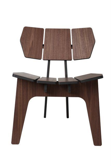 Exceptional Image Of ELEPHANT LOUNGE CHAIR WALNUT Photo