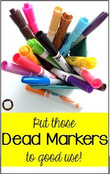 Put Your Old Markers to New Use with an Earth Day Project