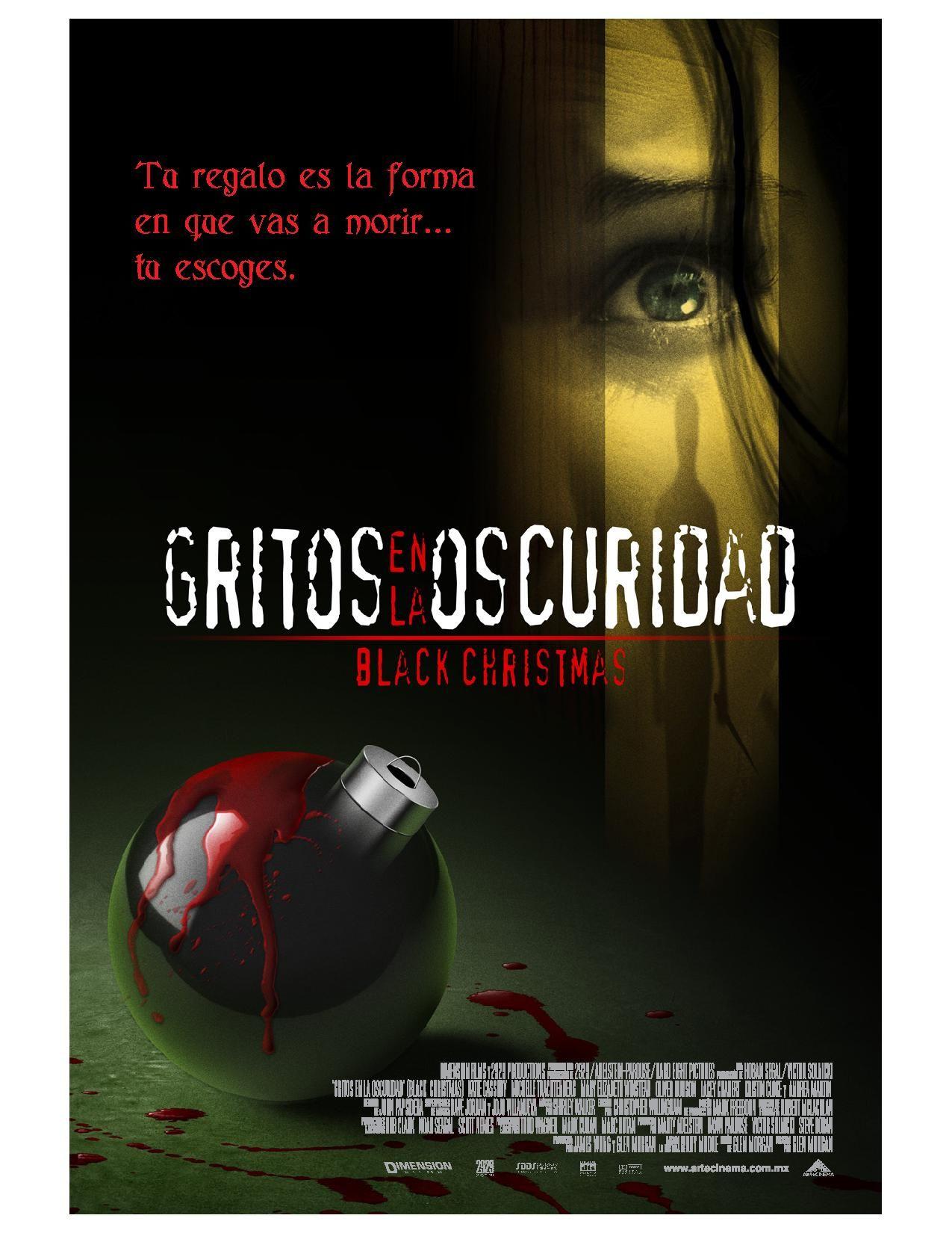 Gritos En La Oscuridad Black Christmas Horror Movie Posters Movie Posters Black Christmas