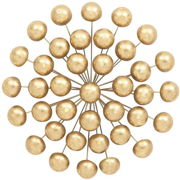 Universal Lighting and Decor Nouveau Retro Golden Orbs 24\