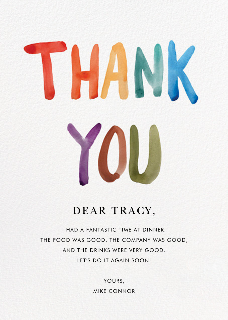 Thank You Card In 2020 Thank You Cards New Year Greetings Your Cards