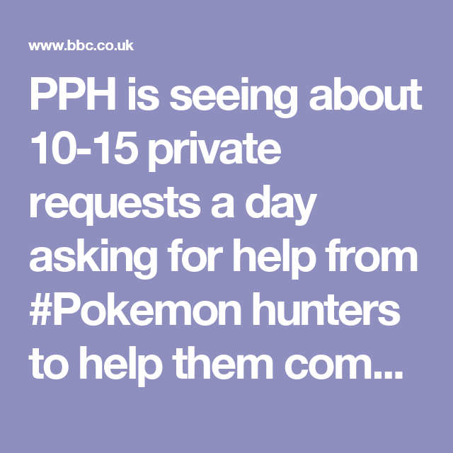 Pph Is Seeing About 10 15 Private Requests A Day Asking For Help
