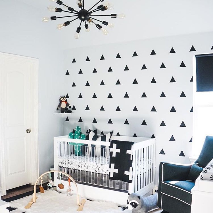 """164 Likes, 4 Comments - @babyletto on Instagram: """"▪️➕◽️monochrome mood ◾️➕▫️• #babyletto Harlow acrylic 3-in-1 crib  • : designed by mama…"""""""