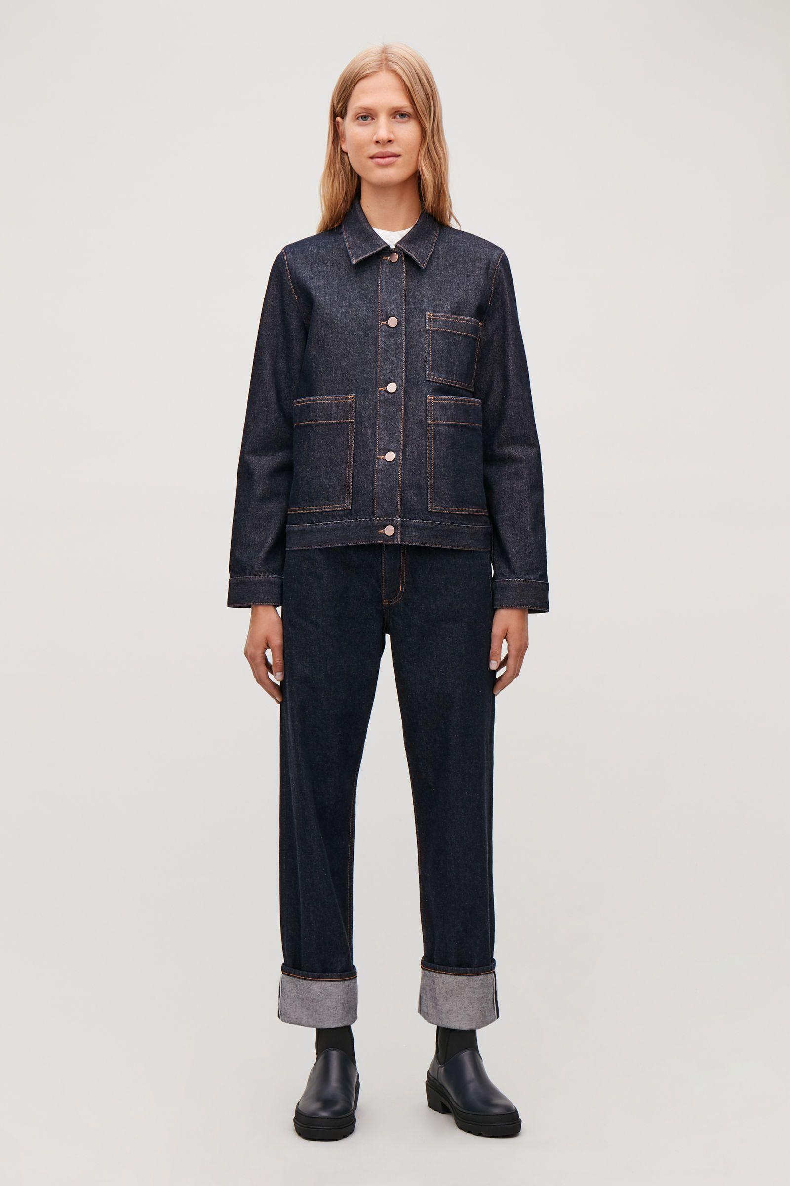 Pin By Alina Parfenov On Denim Denim Jacket Denim Coats Jackets Women