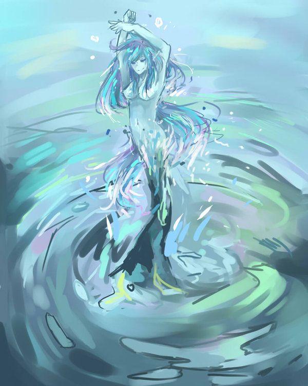 Water Sprite | water sprite by mosacd digital art drawings ... Wailmer Sprite