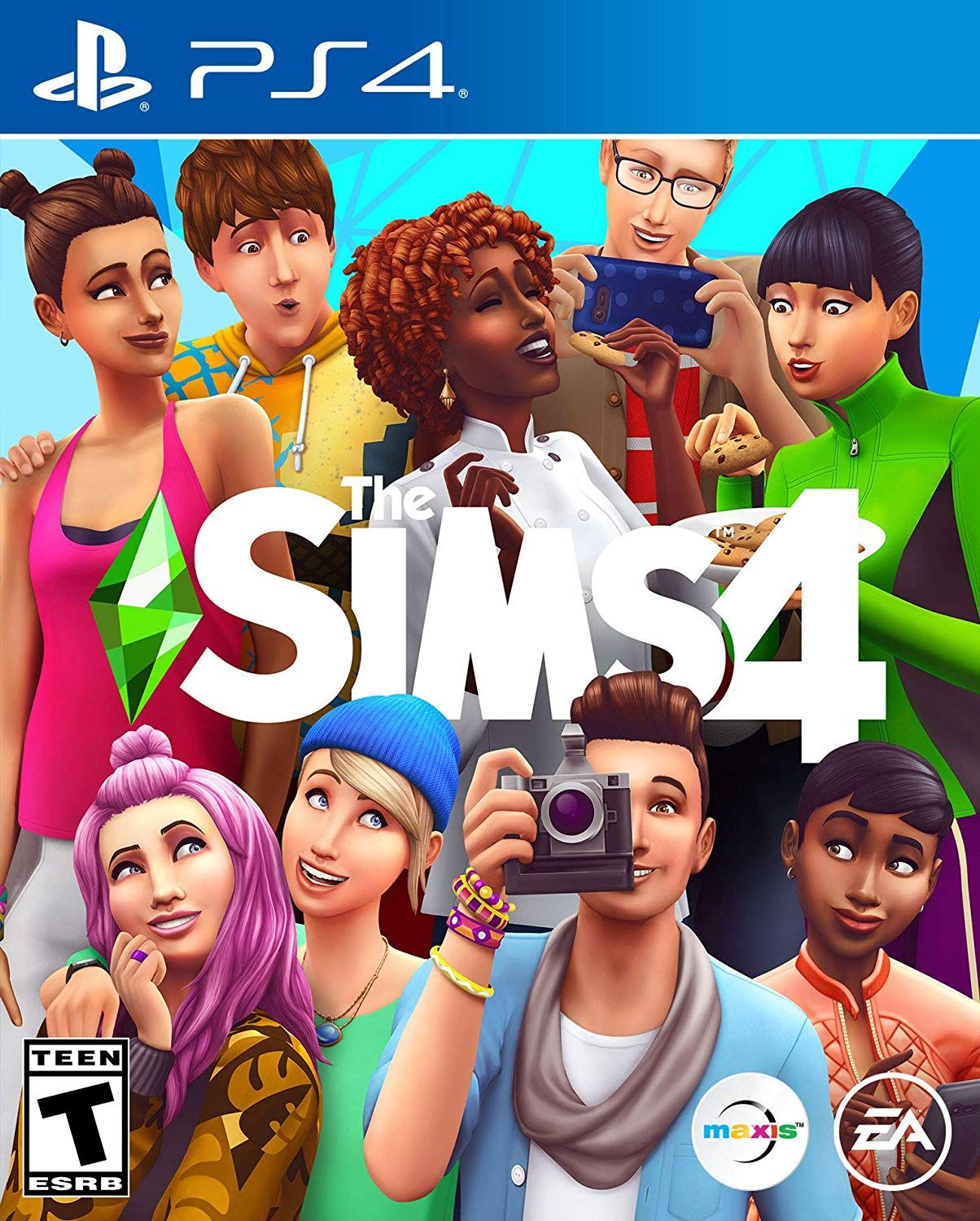 The Sims 4 Playstation 4 Walmart Com Xbox One Games Game Codes Sims 4