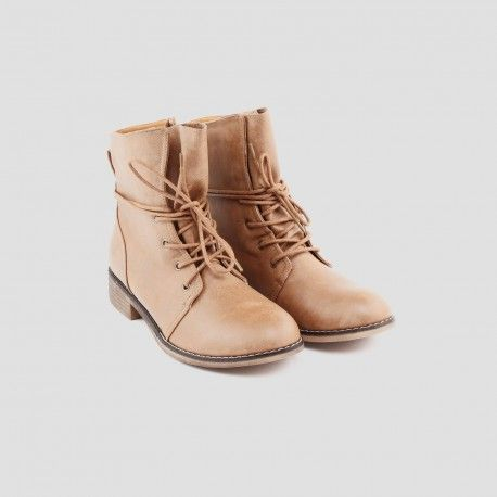 279666300f0f66 BOTTINE GAVROCHE LACETS | shoes in 2019 | Bottines, Bottines lacets ...