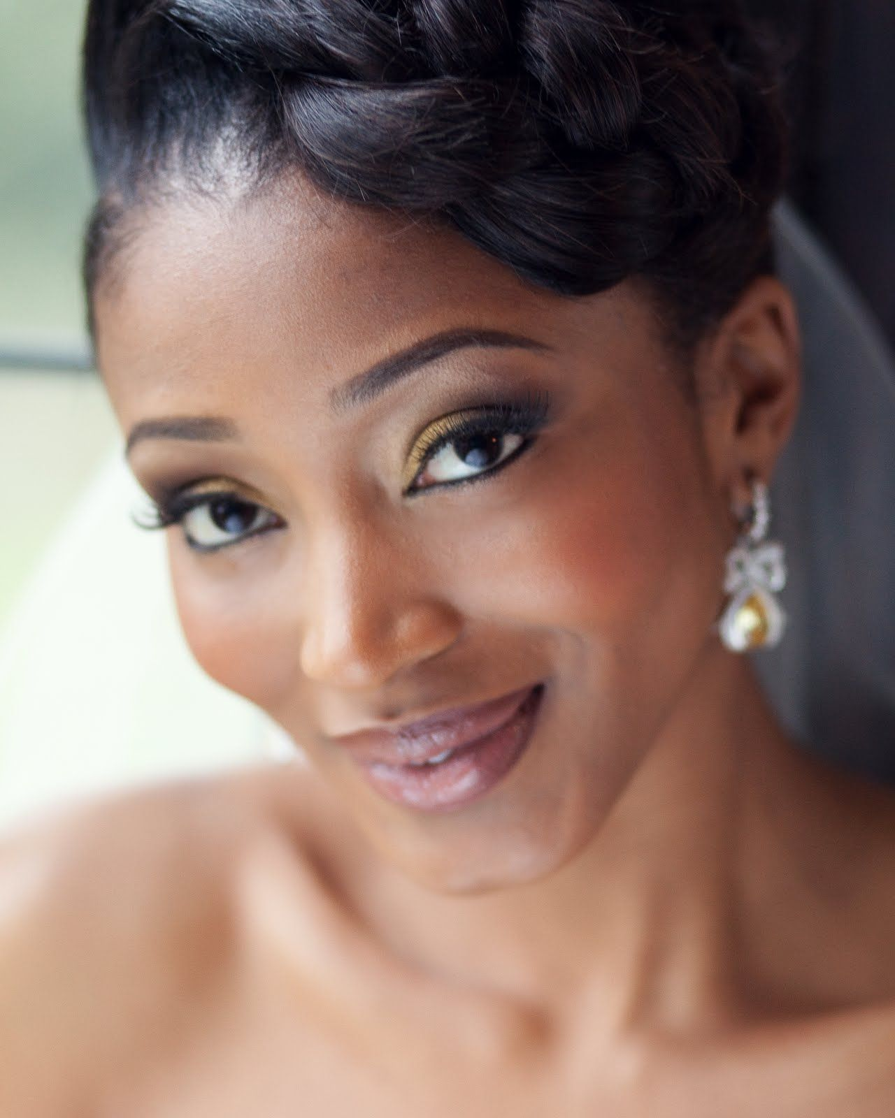 African American Wedding Makeup Alison Cameron Makeup