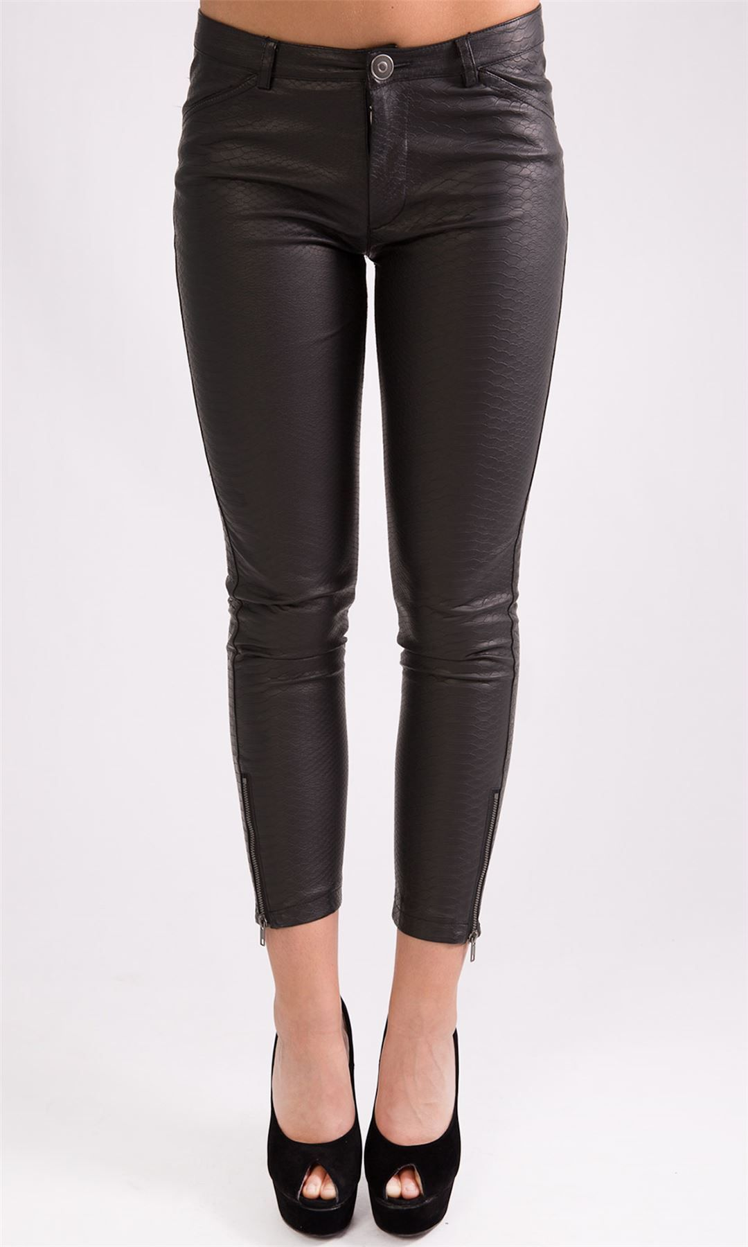 faux leather pants for women
