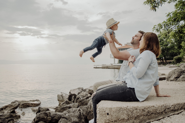 familyshooting im urlaub krk familienshooting am meer