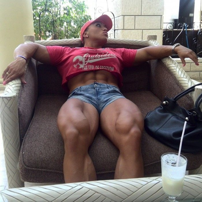 Frau muskulöse beine Wie bekomme
