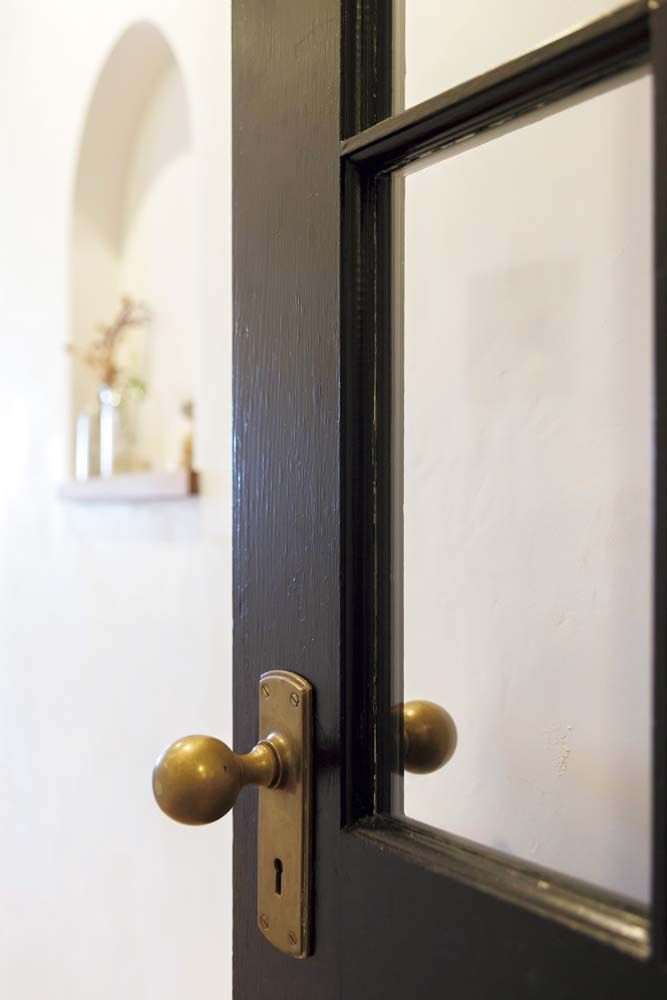 Ldk ドア ガラス 真鍮 ドアノブ マンション リフォーム