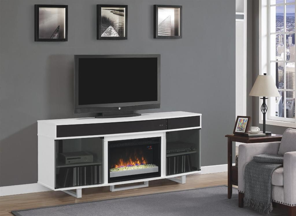 Fireplace Delightful Fireplace Tv Stand At Menards From Perfect