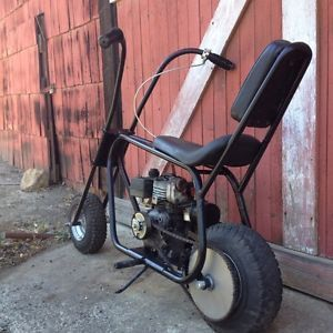 Vintage Cat Duster Minibike Chopper 3 5HP Tecumseh Engine Running