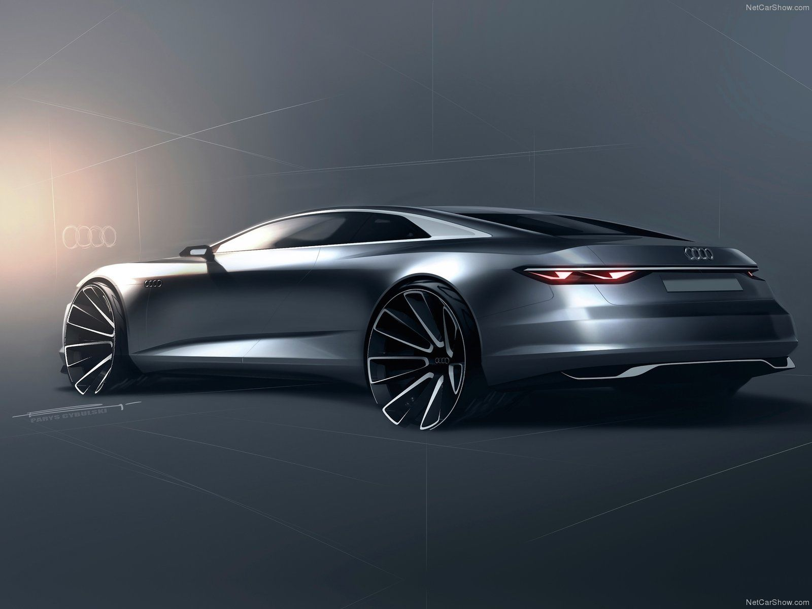 Audi Prologue Concept Sketch From Parys Cybulski Concept Car