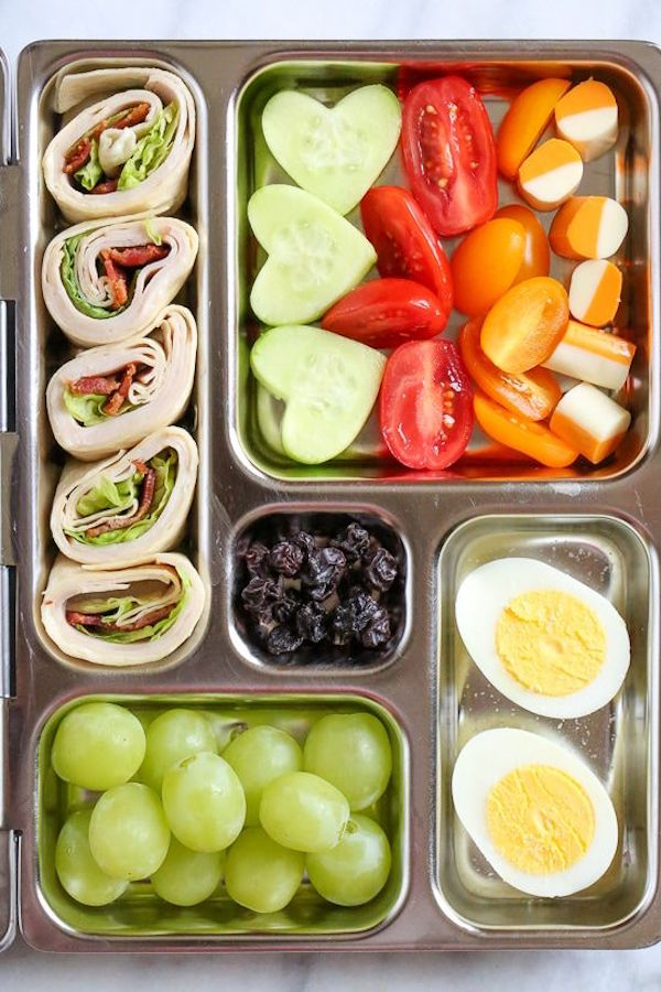 6 Creative Lunchbox Ideas Your Kid Will Love #schoollunchideasforkids
