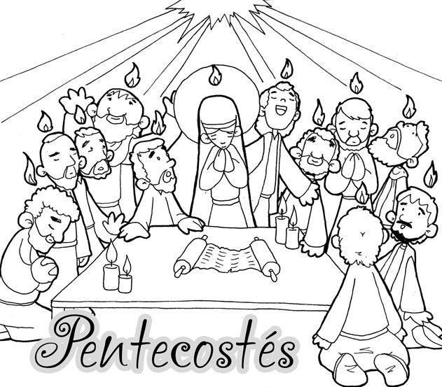 Pentecostés, varias entradas   catequesis   Pinterest   Pentecostés ...