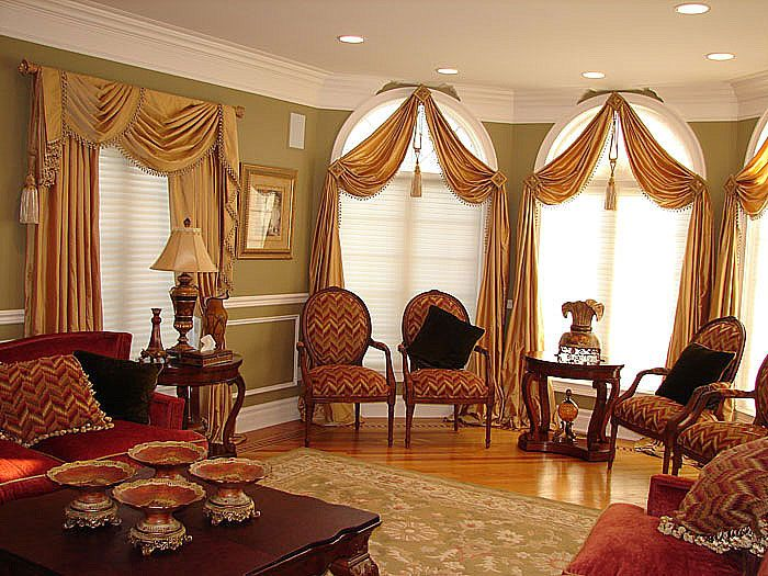Arch Window Curtains To Choose Depend On What You Want To Achieve In The  Room : Arched Window Treatment Ideas.