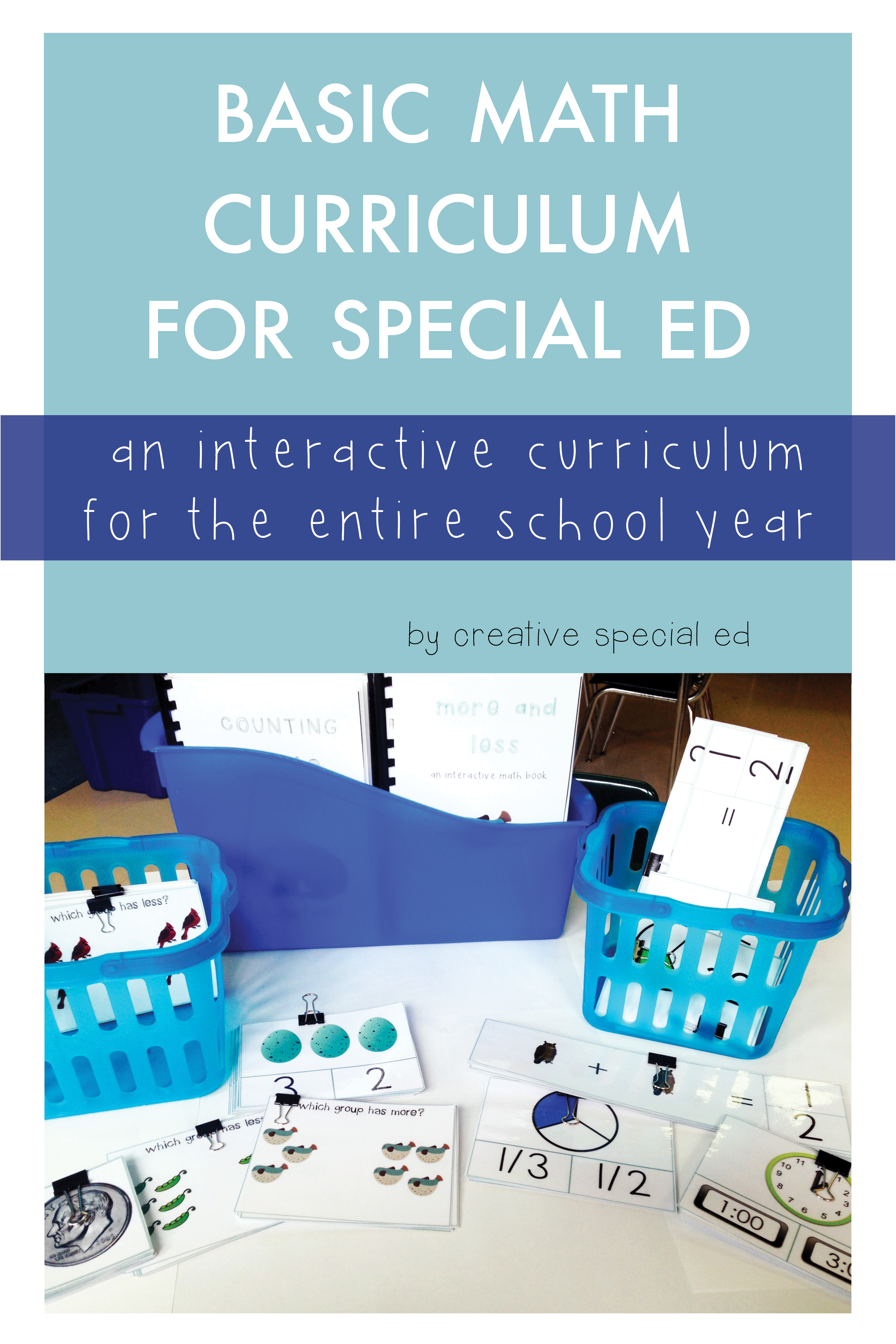Basic Math Curriculum For Special Education Year Long