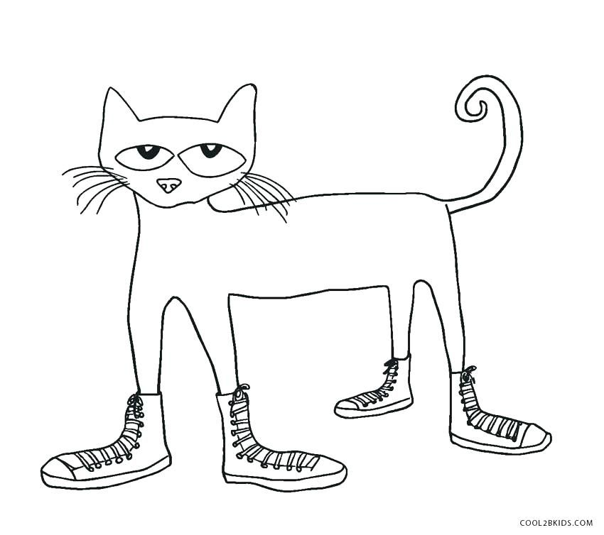 Top 21 Free Printable Pete The Cat Coloring Pages Online Cat