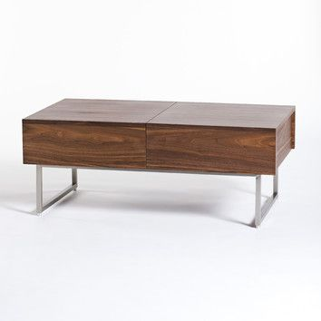 Moe's Home Collection Moe's Home Collection Kansu Coffee Table with Lift-Top
