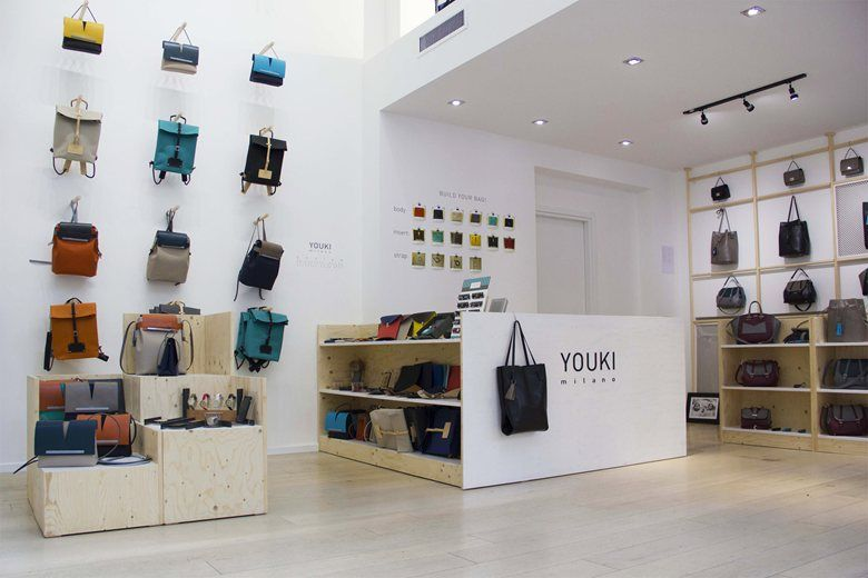 YOUKI milano, new flagship store , Milano, 2015 - LASCIAlaSCIA ARCHITECTURAL EXHIBITIONS