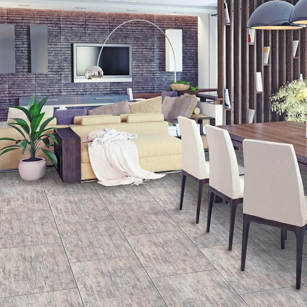 Trafficmaster brushed wood light 12 in x 2382 in luxury vinyl brushed wood light resilient vinyl tile flooring dailygadgetfo Image collections