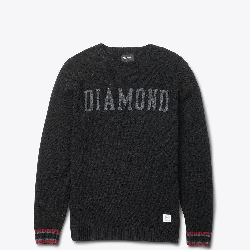 Diamond Supply Co. - College Knit Sweater - Black … | Cute ...