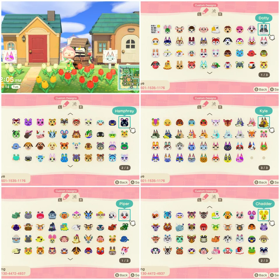 Uploaded 218 villager portraits for the sign in front of ...