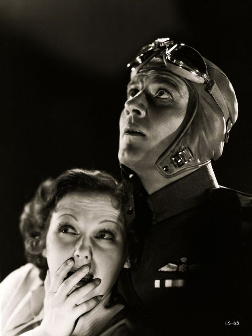 Joel McCrea and Dorothy Jordan, The Lost Squadron, 1932. | Dorothy ...
