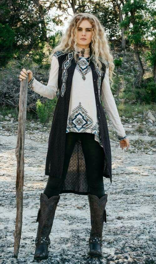 At Cowgirl Kim Boho style outfits, Fashion, Edgy fashion