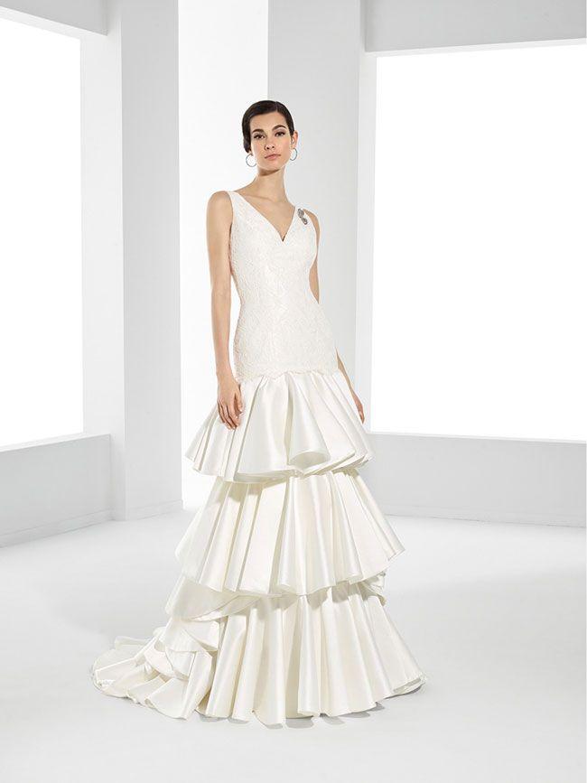Abito sposa stile spagnola – Abiti corti a718e1a3ee3