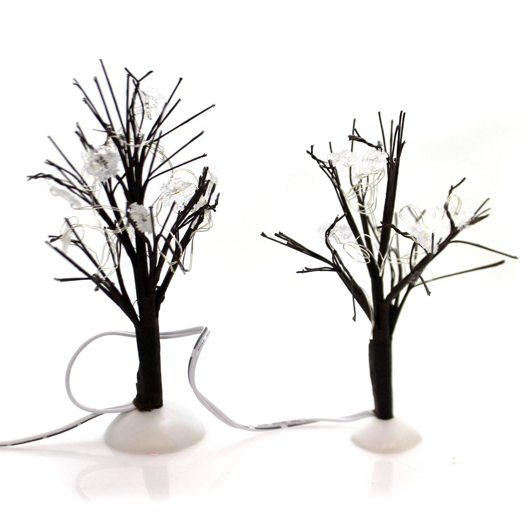 Department 56 Accessory Winter Flurries Bare Branch Trees Wire Set 2 4059770 Tree Branches Department 56 Christmas Store