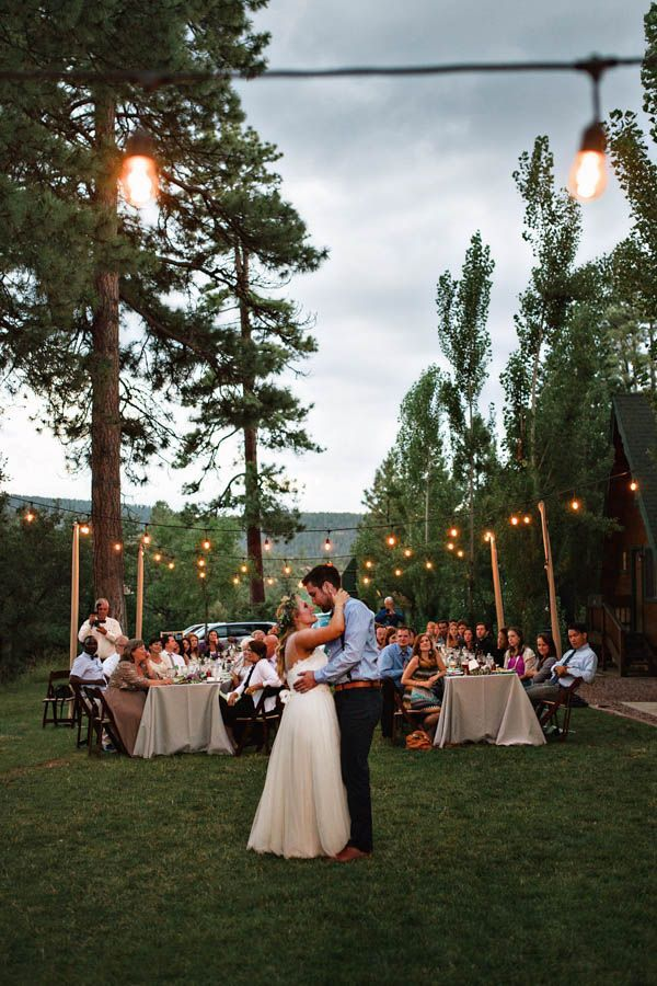 Bohemian Woodland Wedding at the Cabins at Strawberry Hill
