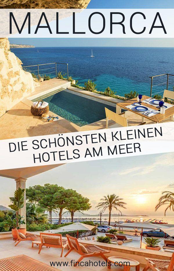 Pequeños hoteles en la playa de Mallorca