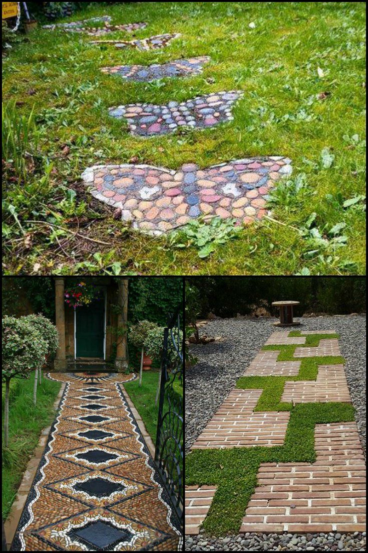 31 Pathways For Your Garden  http://theownerbuildernetwork.co/h38u  Like most things in life, garden paths serve a practical purpose. But as we often say here at OBN, something practical can also be something beautiful too.  Here are some different examples of paths to get the imagination going.