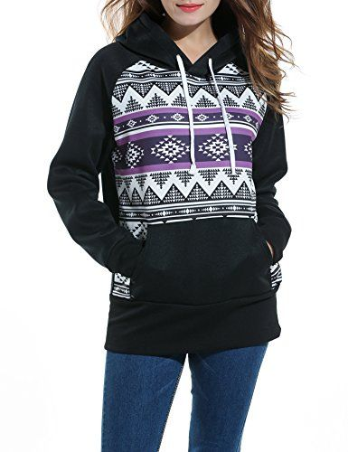 Zeagoo Women Hoodie XLarge Black * Want to know more, click on the image.(This is an Amazon affiliate link and I receive a commission for the sales)