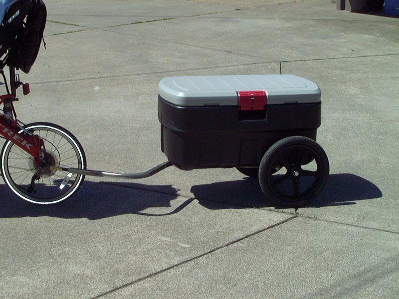 Cooler Trailer Bicycler Evolution Bicycle Trailer Bike