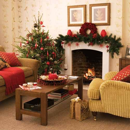 Marvelous Christmas Decorations Interior Design Pictures - Best ...