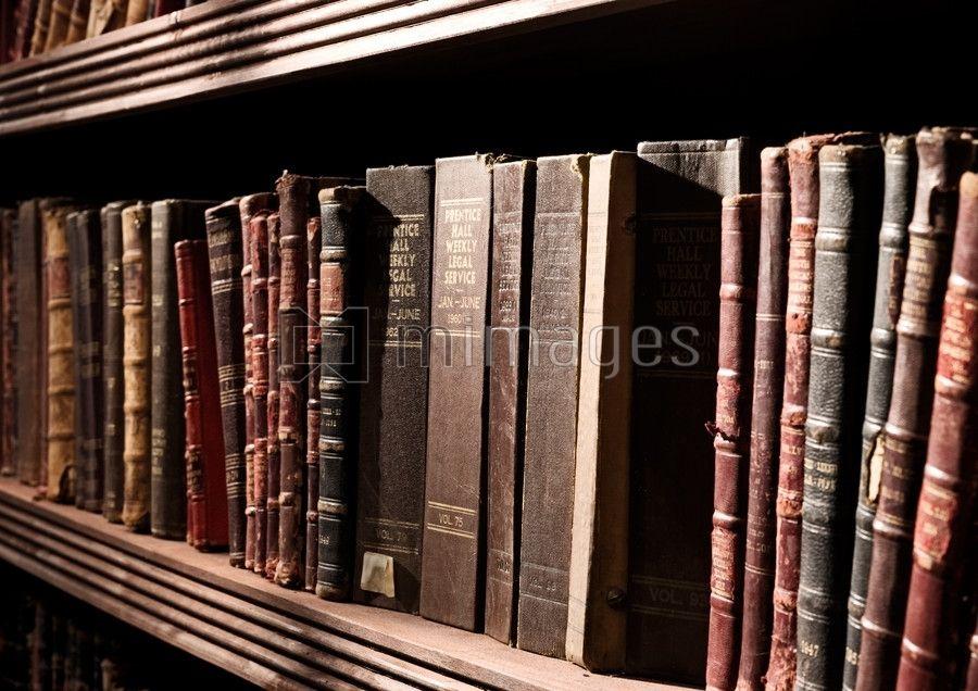 Law Bookshelf Old