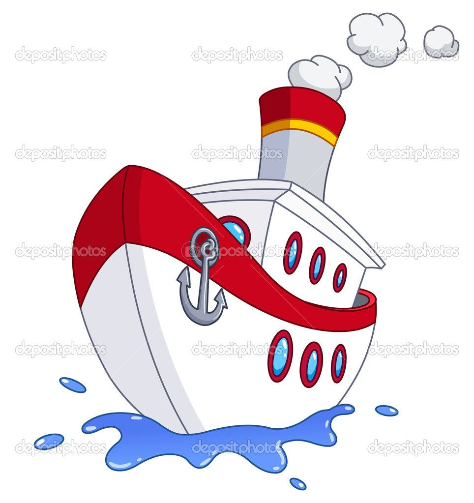 Cartoon Boat | Cartoon Boat | Cartoon Boats | Pinterest | Boating