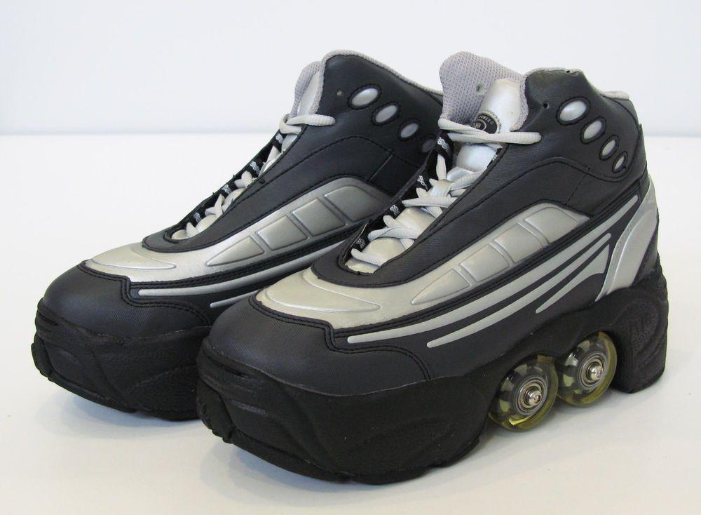 a292475fbfc0a Details about BUY 1 GET 2nd 50% OFF Quad KICK ROLLER Skates ...