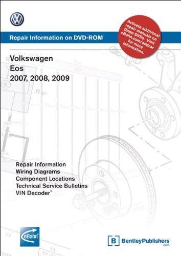 Volkswagen EOS 2007, 2008, 2009: Repair Manual on DVD-ROM ...
