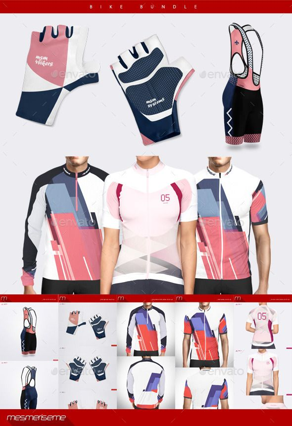 Download Bike Bundle Mockup Download Http Graphicriver Net Item Bike Bundle 9255946 Ref Ksioks Cycling Outfit Bike Sporty Outfits