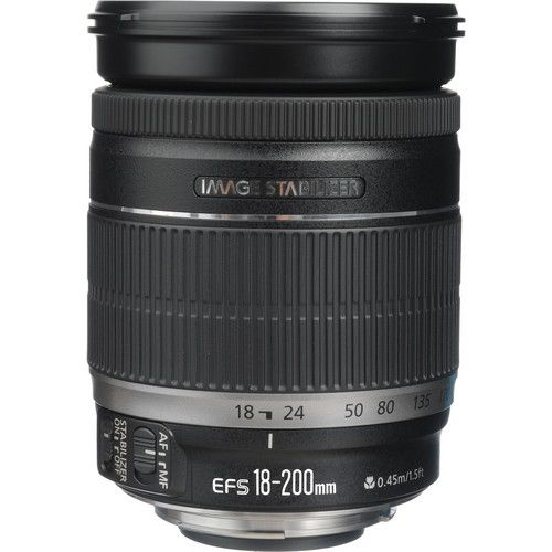 Canon Ef S 18 200mm F 3 5 5 6 Is Lens Lens Canon Canon Ef