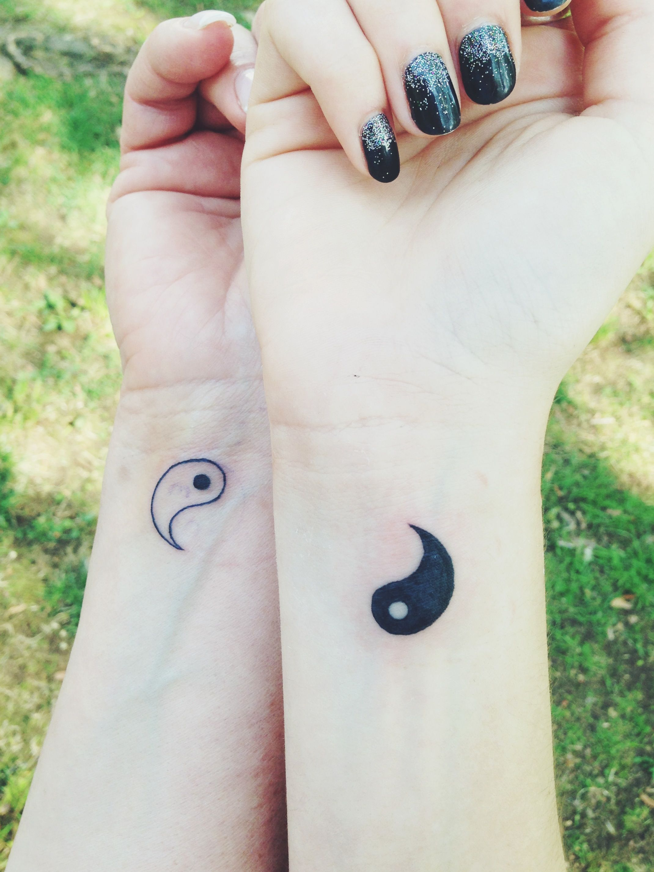 me and my mom got matching yin yang tattoos today i love it tattoos piercings pinterest. Black Bedroom Furniture Sets. Home Design Ideas