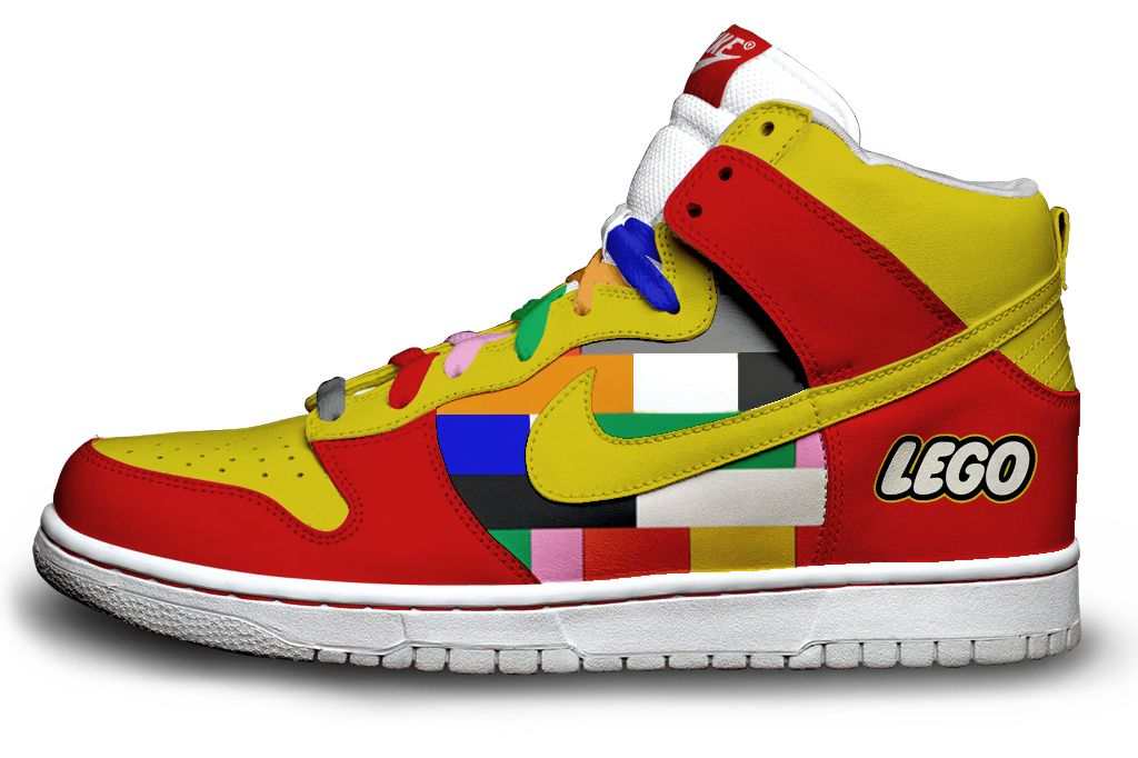 Baskets Nike Lego