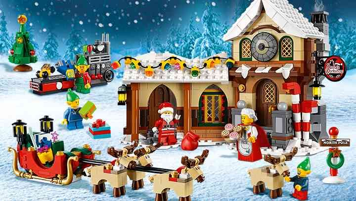 Creator   Disney   Pinterest   Santas workshop and Lego